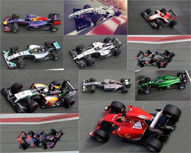 La saison 2014 de F1, ça commence ce week-end et il faudra regarder