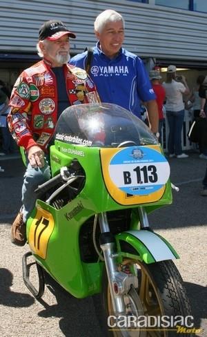 Interview d'Yvon Duhamel lors des Coupes Moto Légende 2011: la moto comme maîtresse...