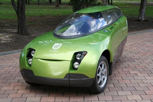Trev : un concept de véhicule à 3 roues 100% électrique qui voit la vie en vert !