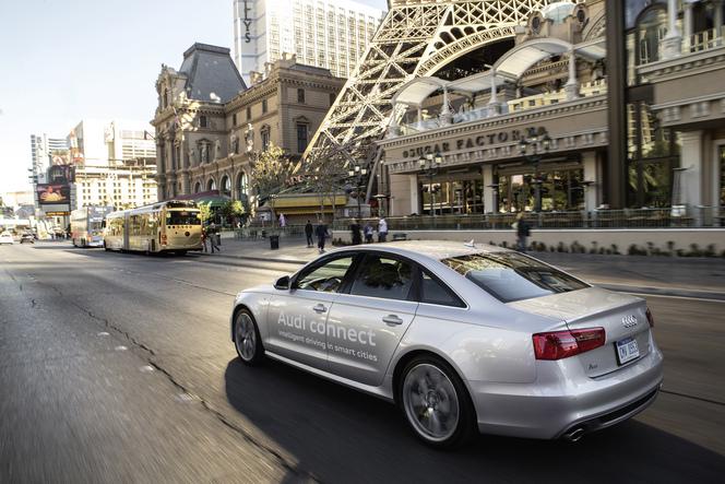 Evitez les feux rouges et économisez du carburant grâce à Audi