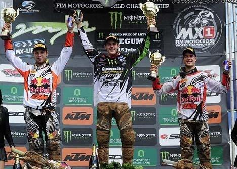 Motocross mondial Lettonie : MX 2, double abandon pour Searle et victoire pour Roelants