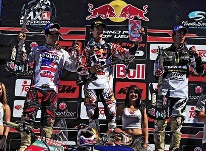 Motocross mondial : Musquin gagne la 2ème manche stoppée après 26 minutes de course, et ses adversaires reculent au championnat