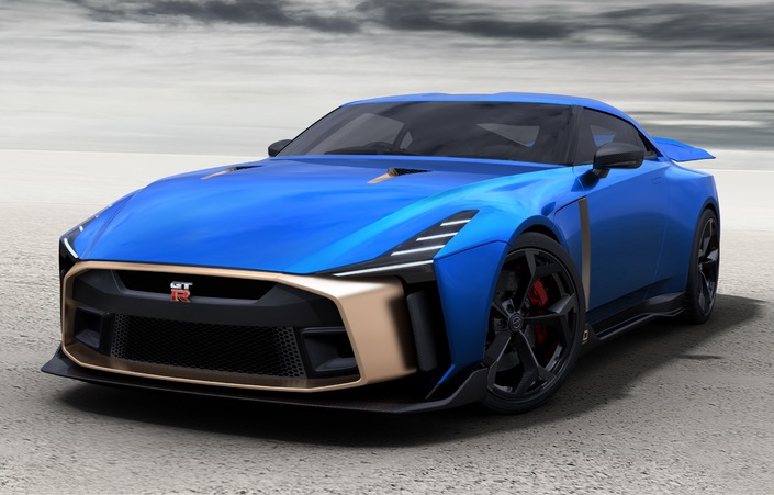 Nissan GT-R50by Italdesign: 990000€ hors taxes