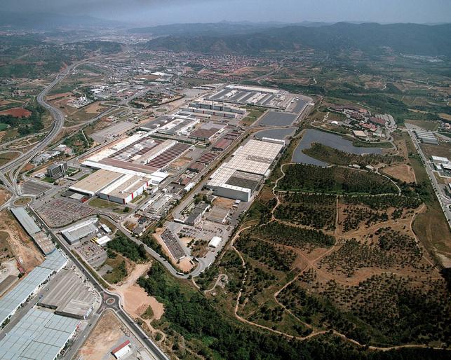 Seat : l'usine de Martorell, l'un des plus grands générateurs d'énergie solaire