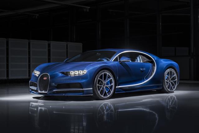 Bugatti Chiron: la moitié de la production déjà vendue