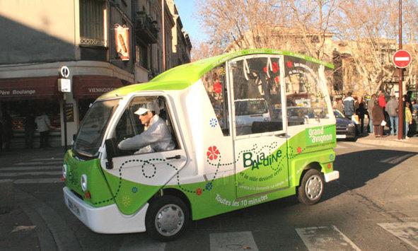 Avignon : la Baladine 100% électrique fait sensation verte