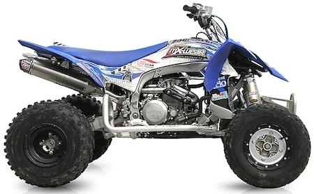 CRD: une ligne GP X-race inox pour Yamaha YFZ 450 R