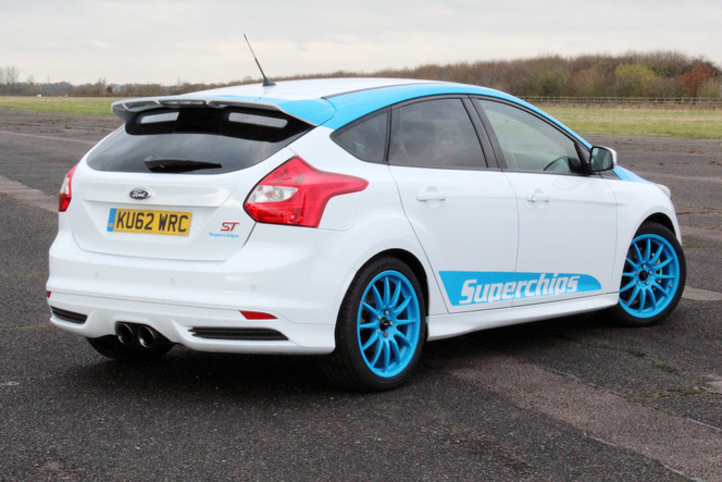 Superchips ajoute plus de 50 ch à la Ford Focus ST (attention, il y a un piège)