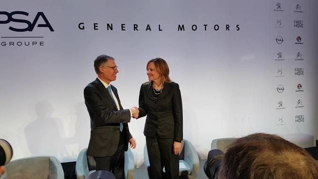 Vidéo - PSA et Opel convolent en justes noces