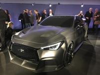 Infiniti Projet Black S Concept : avion furtif - Vidéo en direct du salon de Genève 2017