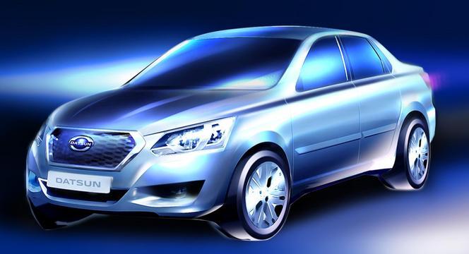 Datsun tease un nouveau modèle destiné à la Russie (qu'on a déjà vu)