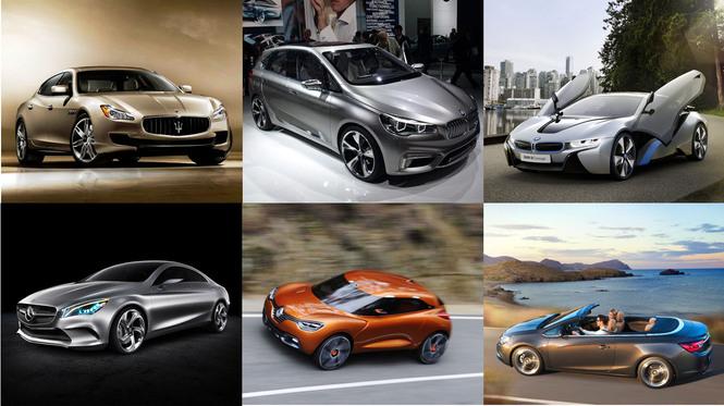 Calendrier 2013 - Catégorie par catégorie, découvrez  les 60 nouveaux modèles de l'année