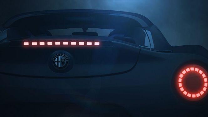 L'Alfa Romeo 4C Spider en vidéo