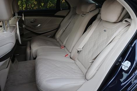 C'est aux places arrière que le confort est le plus poussé.