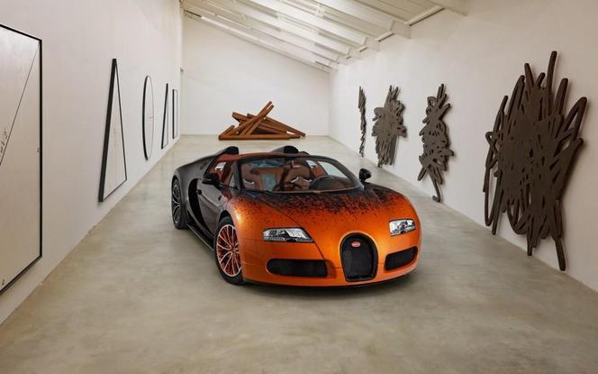 Bugatti Veyron Grand Sport Venet, l'art car de Molsheim