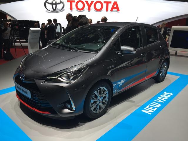 Salon de Genève 2017 - La Toyota Yaris restylée se dévoile en live