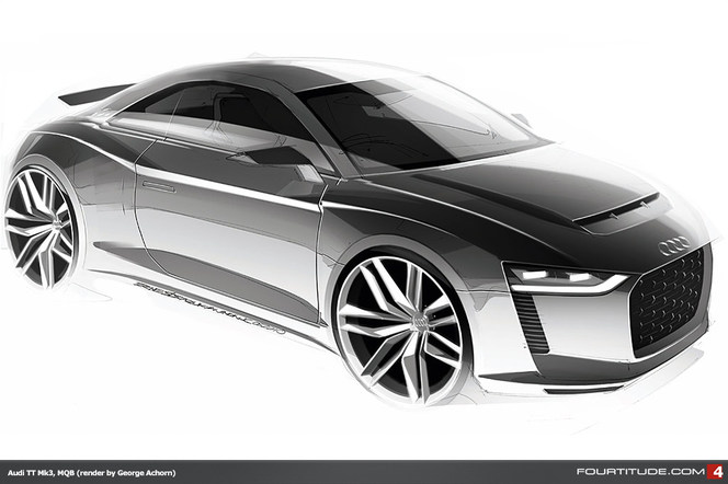 Futur Audi TT : comme ça ?