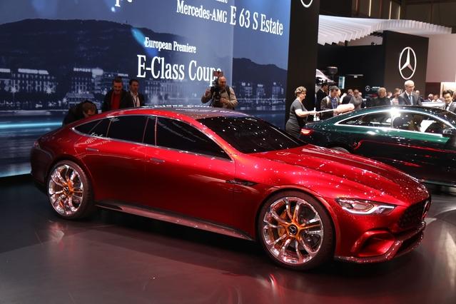 Mercedes GT Concept : AMG des familles - En direct du salon de Genève 2017