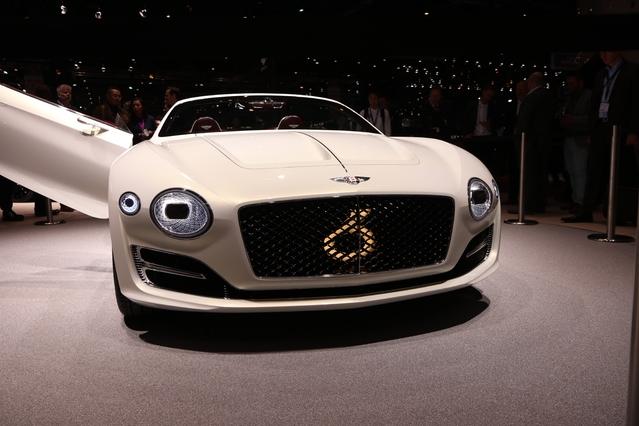 Bentley EXP 12 Speed 6e Concept : illustration du futur - En direct du salon de Genève 2017