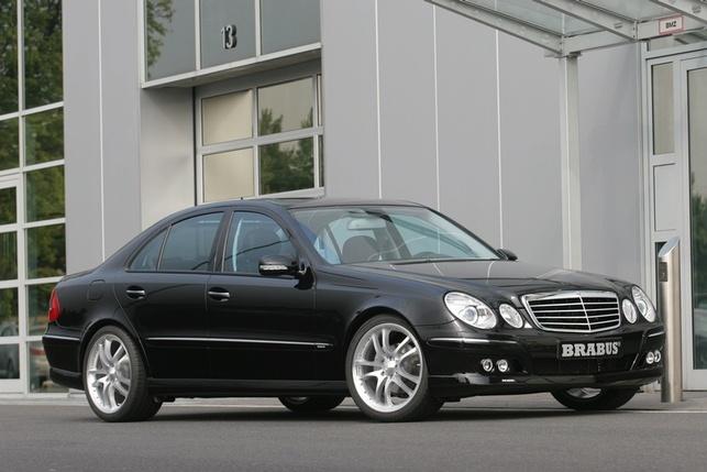 Pour la Mercedes E300 Bluetec, le kit PowerXtra D6 BLUE de Brabus : respect de la norme anti-pollution EURO 5