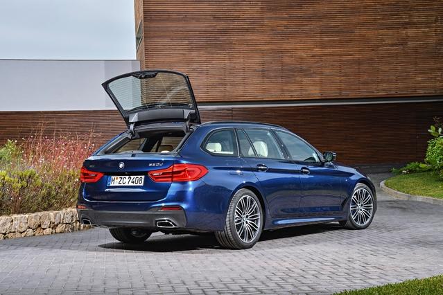 BMW Série 5 Touring: Classe affaires - En direct du salon de Genève 2017