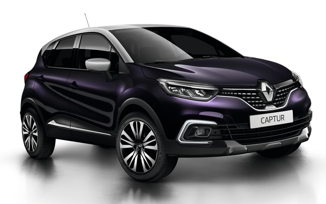 Salon de Genève 2017 - Renault dévoile le Captur Initiale Paris