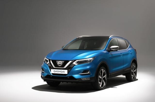 Salon de Genève 2017 - Le Nissan Qashqai restylé se dévoile en live