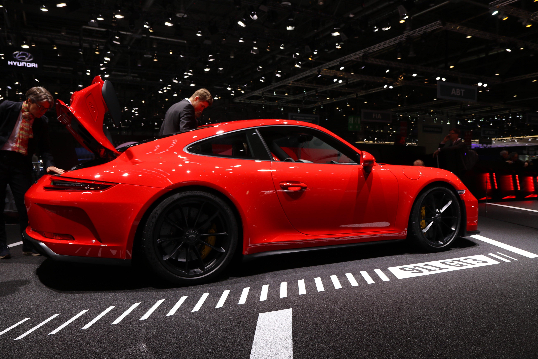 Porsche 911 gt3 restyl e la m me en mieux en direct du for Salon de geneve 2017 site officiel
