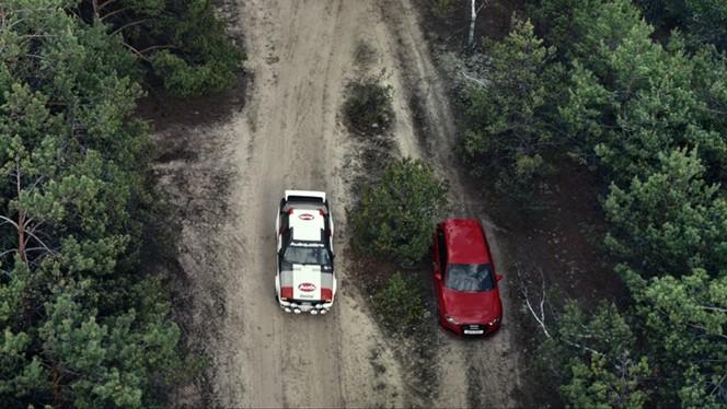 Vidéo : Audi fait du rallye en RS3 ou presque
