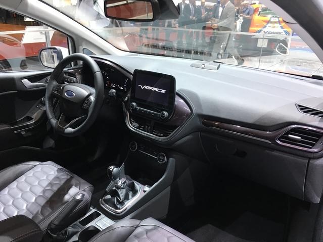 Salon de Genève 2017 - La Ford Fiesta 6 se dévoile en live