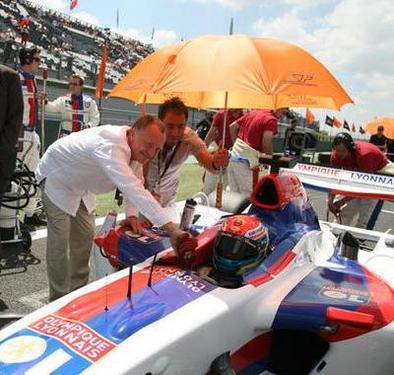 Superleague Formula - Nelson Panciatici: Un moteur de seconde division au milieu de la ligue des Champions