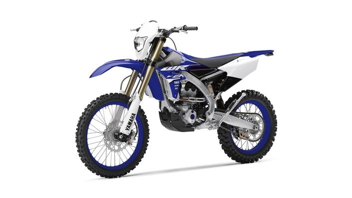Yamaha WR250F 2018 : les évolutions