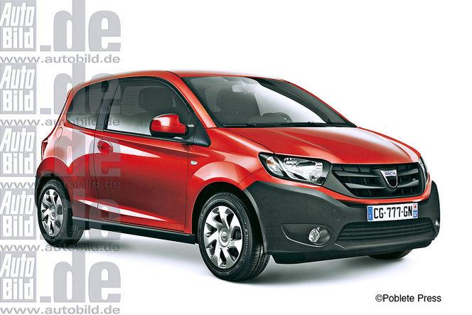 Bientôt une citadine Dacia sur base de Renault Twingo 2 ?