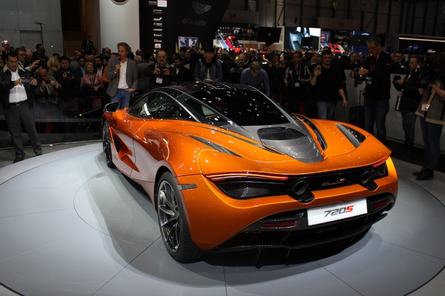 McLaren 720 S : nouvelle référence ? En direct du salon de Genève 2017