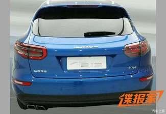 Zotye T700 : la copie chinoise du Macan