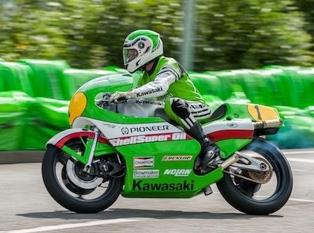 Kawasaki fête ses 40 ans en Allemagne en grandes pompes