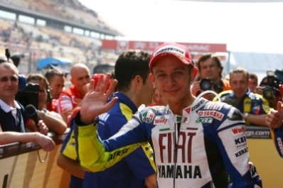 Moto GP - Chine D.3: Rossi, chef de la bande des quatre