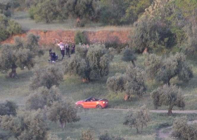 Surprise : le Range Rover Evoque cabriolet est en plein tournage publicitaire