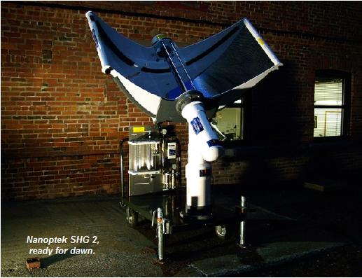 Nanoptek Corporation : de l'énergie solaire pour produire de l'hydrogène
