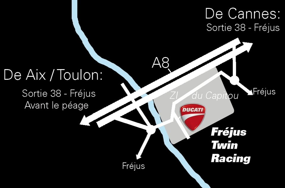 Ducati : Un nouveau magasin dans le Var