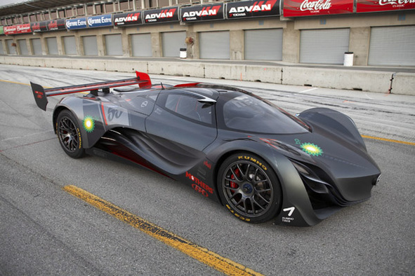 Concept Furai de Mazda : entre moteur rotatif et E100