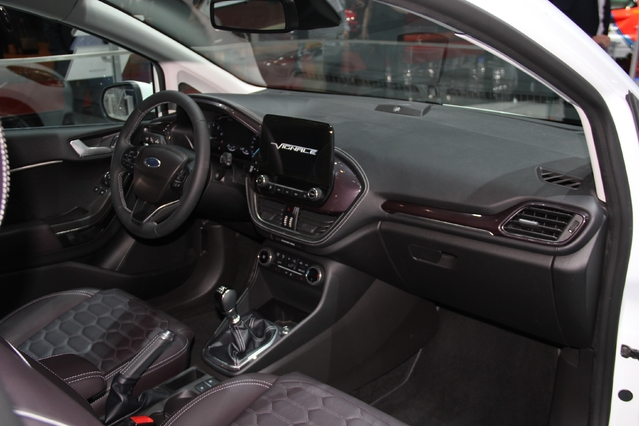Ford Fiesta 2017: la plus techno - Vidéo en direct du salon de Genève 2017