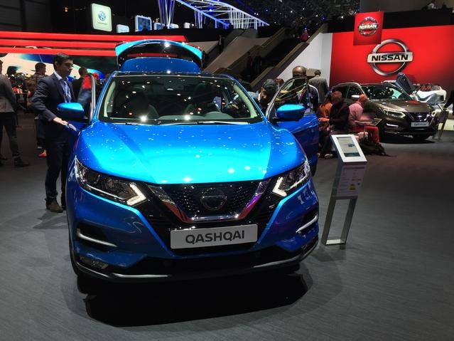 Nissan Qashqai 2017: revitalisé - En direct du salon de Genève 2017
