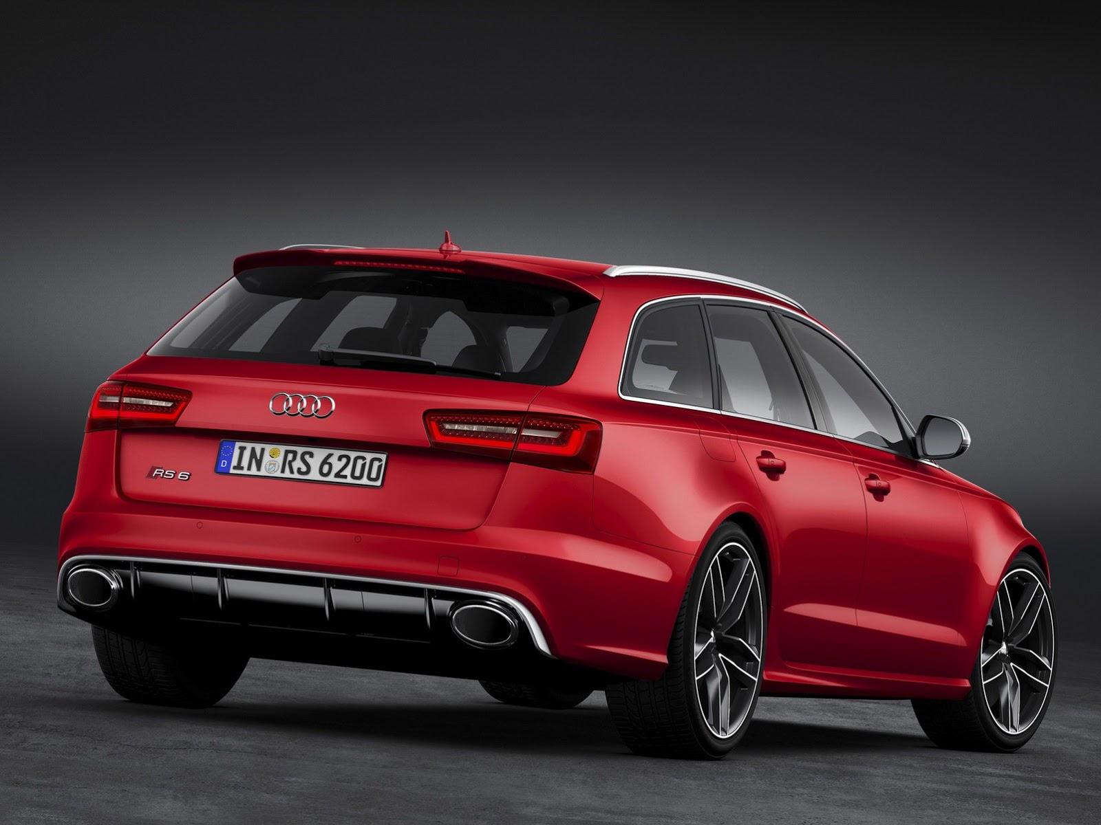 Nouvelle Audi Rs6 Avant Le Monstre Revient Vite