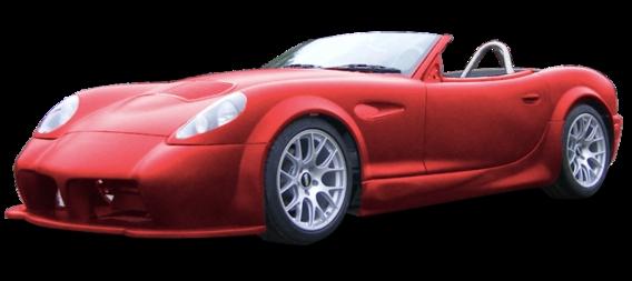 Panoz Esperante Spyder GT: impressionnante