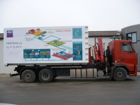 Méga Pneus : une campagne de sensibilisation à la collecte et au recyclage des pneus usagés qui a du succès !