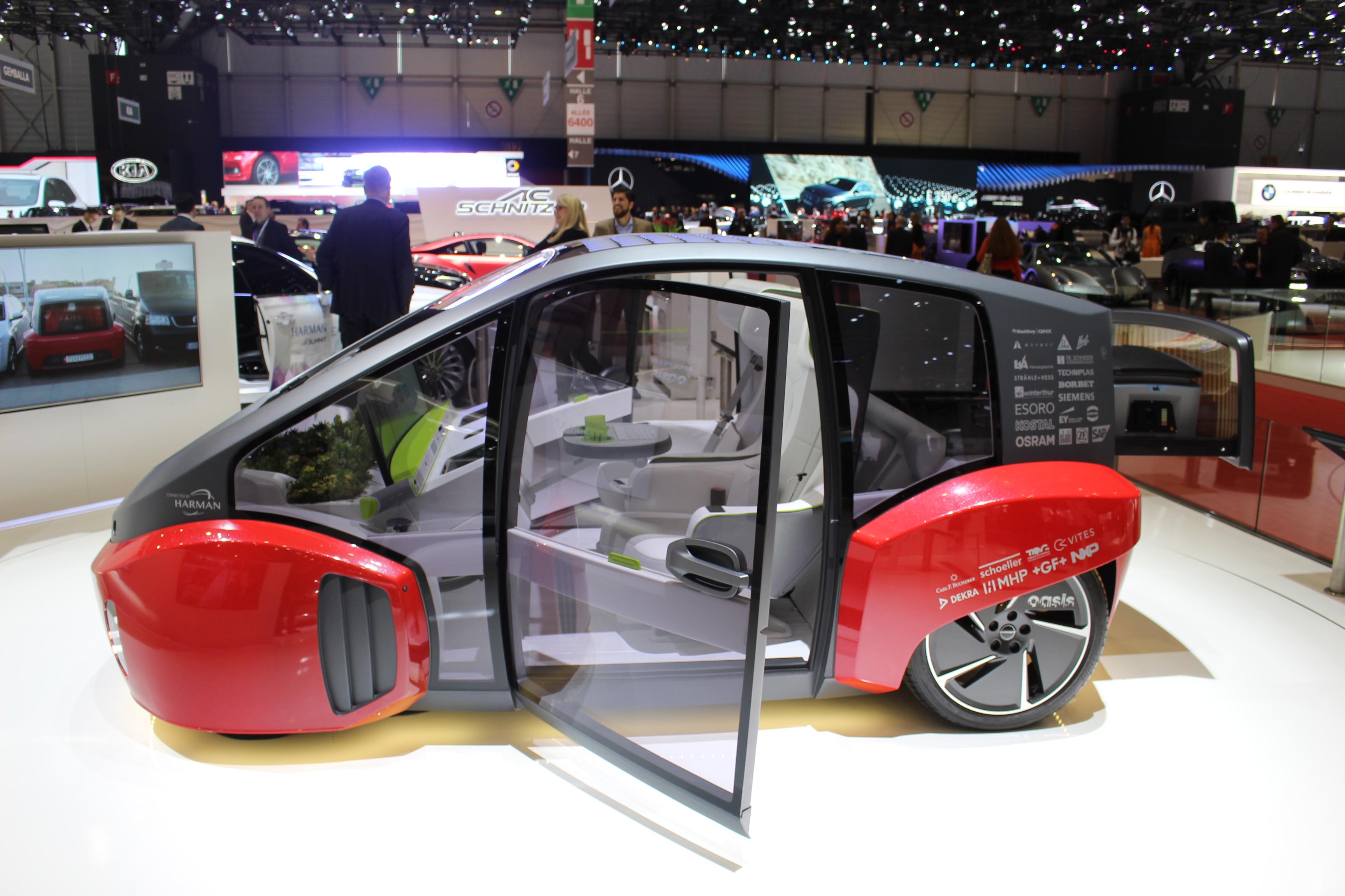 Les voitures autonomes vid o en direct du salon de for Salon de geneve 2017 site officiel