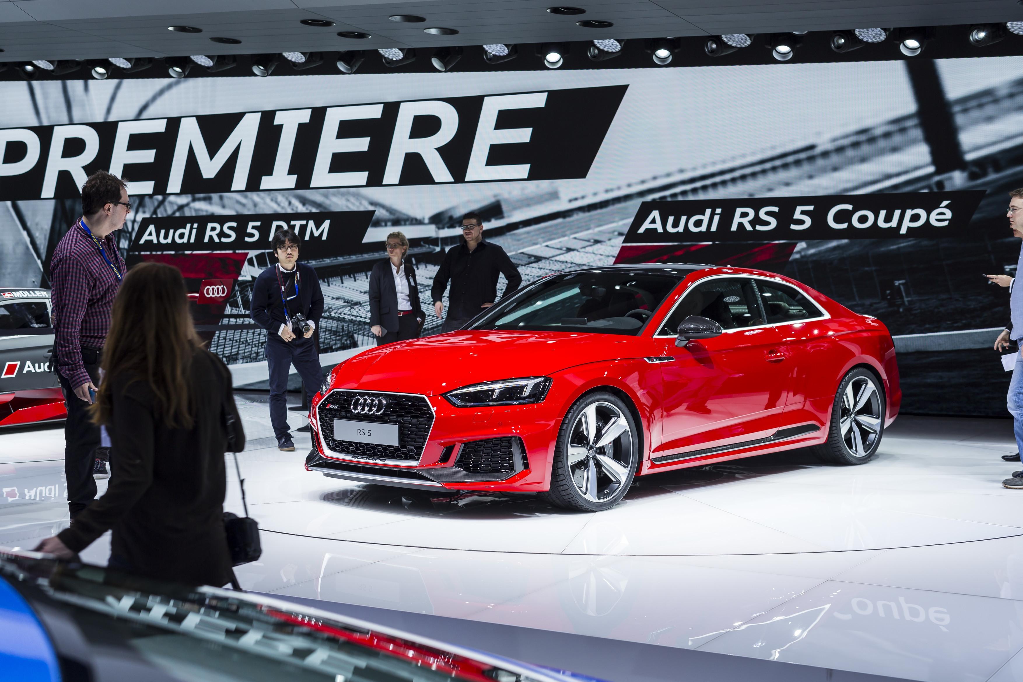 Audi rs 5 haro sur la 911 vid o en direct du salon de for Salon de geneve 2017 site officiel