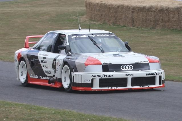 Audi précise que ses designers se sont inspirés de l'Audi 90 quattro IMSA GTO pour donner plus de caractère à la RS 5.