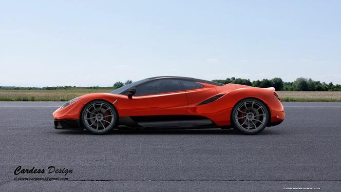 [design] McLaren MC-1, une autre vision de la P1